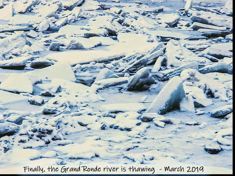 Thawing Grand Rondo River