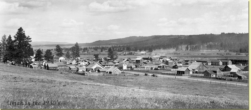 Ukiah in the 1930s